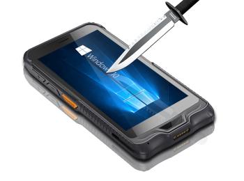 6寸手持終端pdaWindows10系統工業手持三防加固pda6
